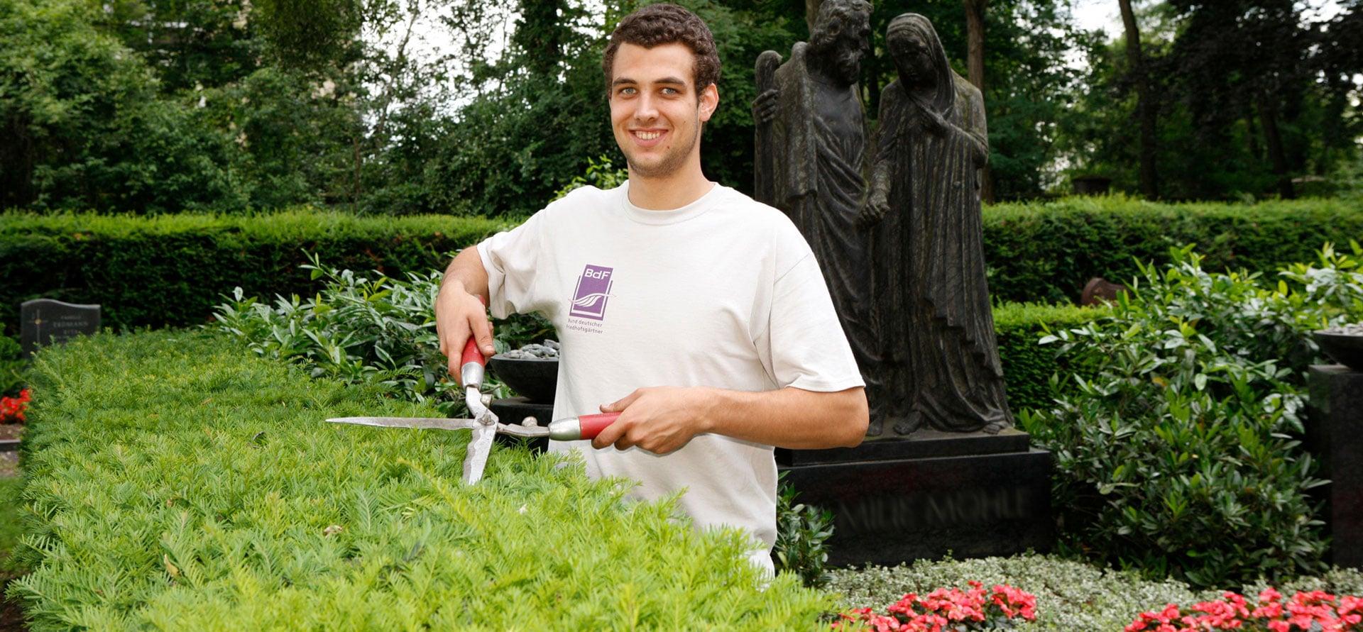 Ausbildung zum Friedhofsgärtner